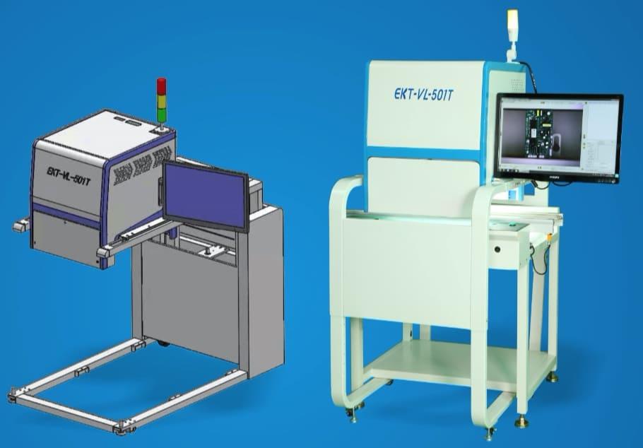 波峰焊在线aoi检测EKT-501T在生产中的应用